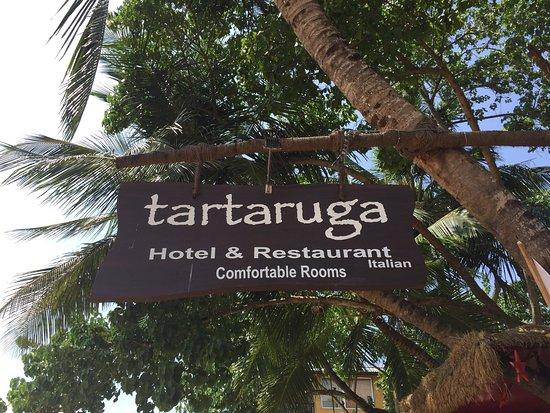 Tartaruga Hotel & Beach Restaurant: 綺麗なビーチレストラン