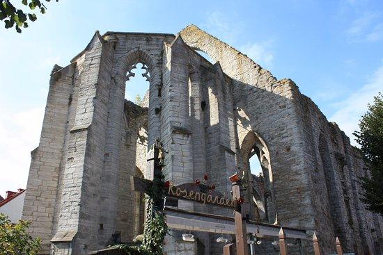 St. Nicolai Ruin : 靠近廣場