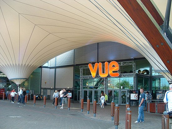 Cribbs Causeway, UK: Front entrance canopy