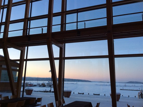 Sibelius Hall : View from Metsähalli