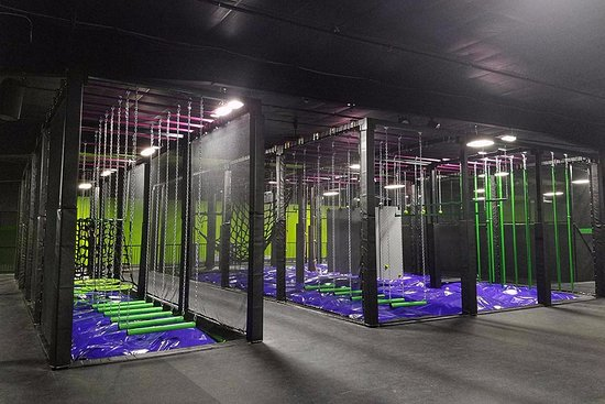 Action City: Trampoline Park - Ninja Warrior Courses