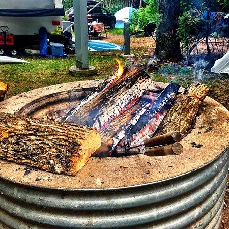 Garden, MI: Fayette Campground