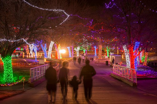 Oklahoma: Rhema Christmas Lights in Broken Arrow. Photo by: Jeremy Charles