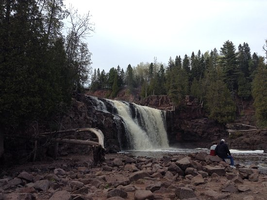 Two Harbors, MN: View from the main side