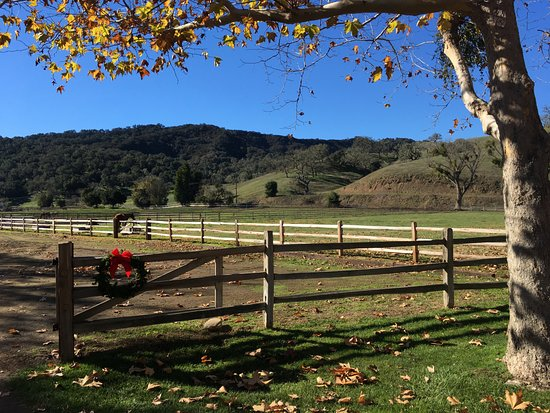 Alisal Guest Ranch & Resort: corrals