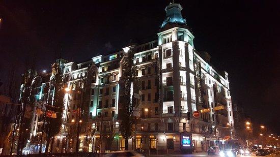 Отель Премьер-Палас: Huge admiral ship in the very center of Kiev