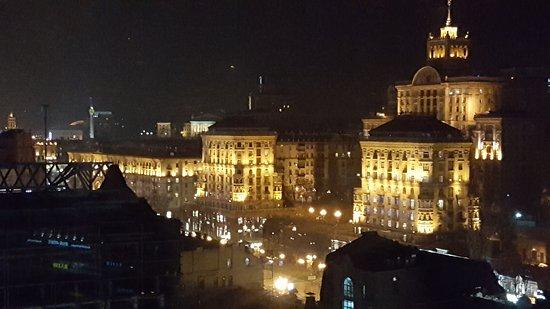 Отель Премьер-Палас: view from the roof top restaurant