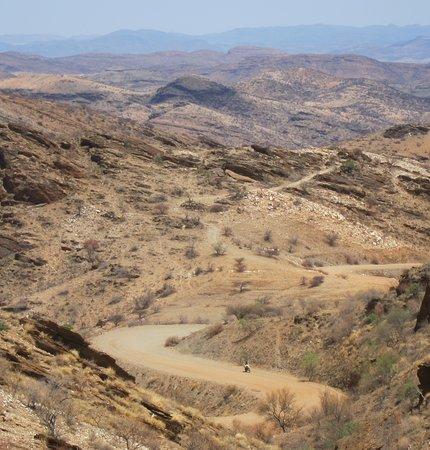 Regione di Erongo, Namibia: Passstrasse