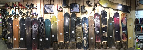 Zero G Board & Bike Shop : Jones Snowboards Display 2016/17