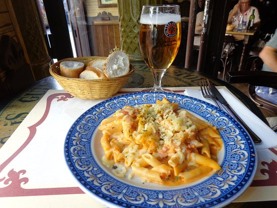 Gran Café de Madrid: Delicia de pasta