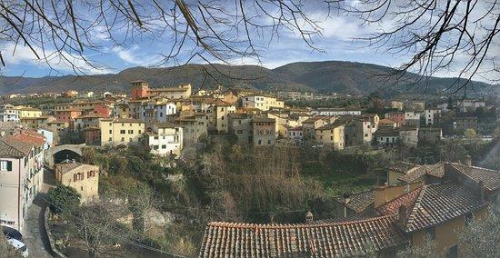 The town of Loro Ciuffenna