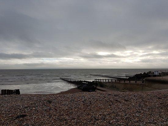 Felpham, UK: Pebble beach
