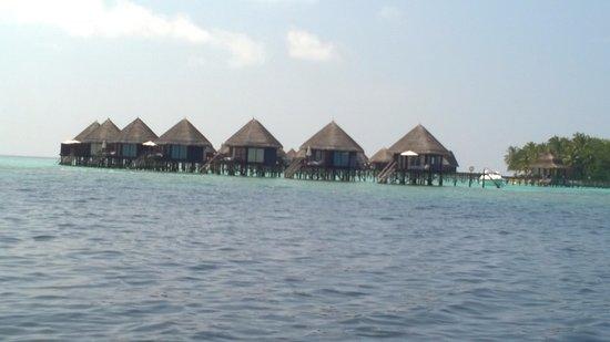 Thulhagiri Island Resort: Arriving at the Resort