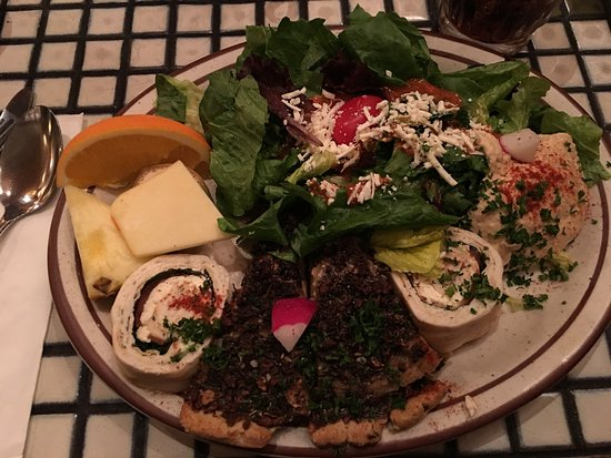 La Mediterranee: Delicious food and drinks at a reasonable price.  Terrific service, perfect for a pre-show dinne