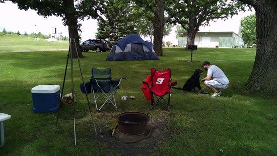 Garfield, MN: Standard Tent Site