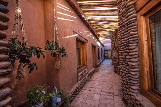 Lodge Andino Terrantai: Corridor sector, the original historic home