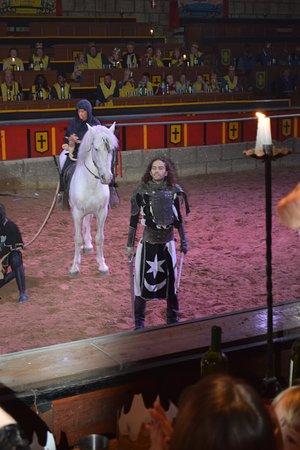 San Miguel de Abona, Spanien: The Black Knight!