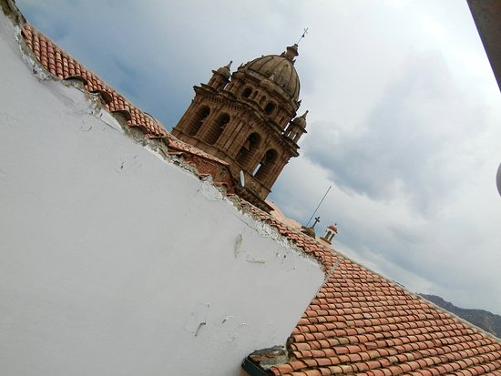 Casa Andina Classic Cusco Plaza : view from our room window