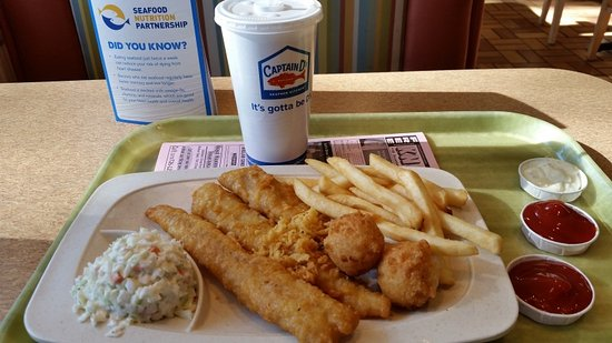 Franklin, KY: 3 Piece white fish meal (tasty and filling)
