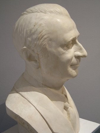 Musée Louis Vouland : Portrait en buste de Louis VOULAND