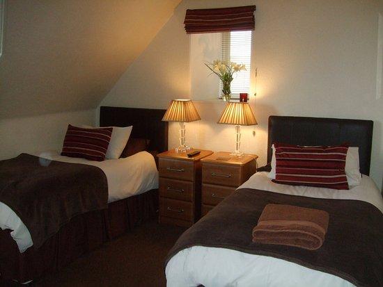 Lossiemouth, UK: Room 2 as a twin, en-suite, sea view