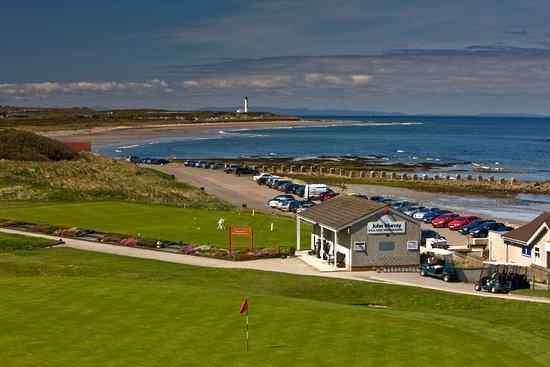 Lossiemouth, UK: View from all four sea view rooms