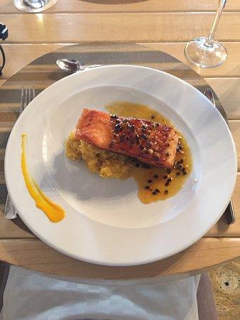 Hotel Santo Toribio: La comida está en su punto una excelente Atención por parte del personal del restaurante un rest
