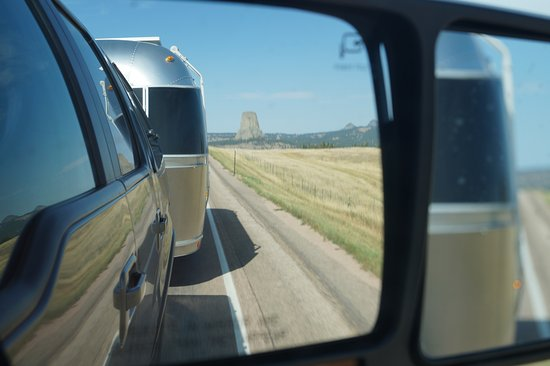 Devils Tower, WY: leaving the rock