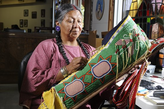 Oklahoma: Native Artists. Photo by: David Fitzgerald