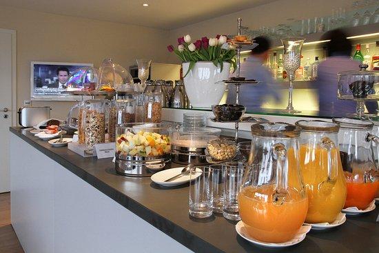 Hotel Norderriff: Teil vom Frühstücksbuffet