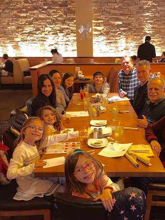 Our extended family of 11, 6 adults, 5 children enjoying lunch at ...