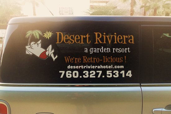 Desert Riviera Hotel: Free pick up from airport