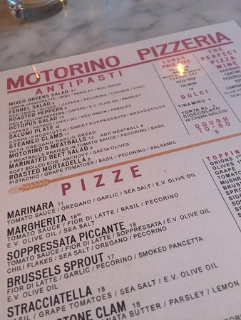 Photo of Italian Restaurant Motorino at 349 E 12th St, New York, NY 10003, United States