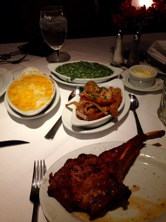 Ruth's Chris Steak House : Christmas Dinner at Ruth's Chris