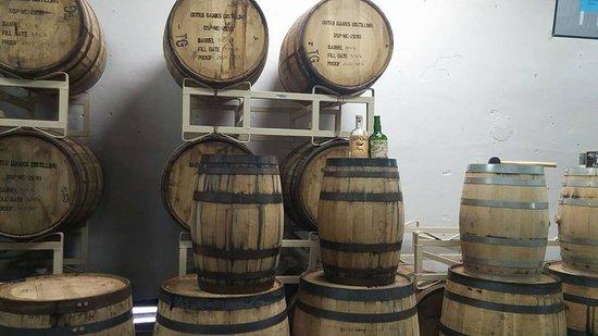 Manteo, NC: Rum in the barrells