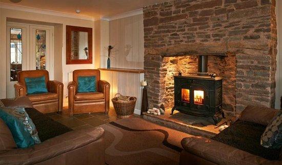 Llangorse, UK: Stunning cottage with amazing hosts...🤗