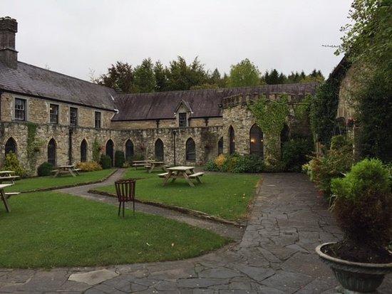Kinnitty Castle Courtyard/Abbey Building