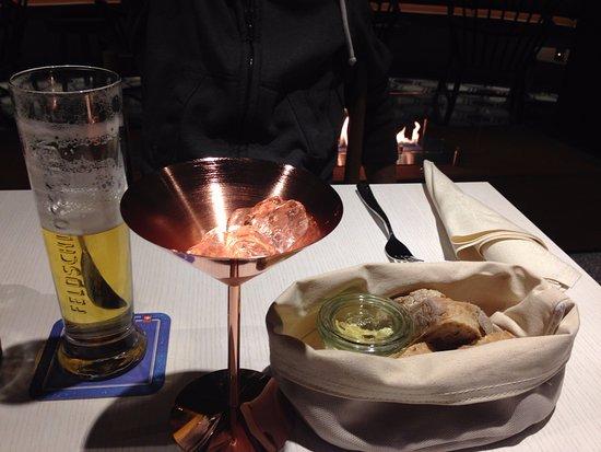 Hard Rock Hotel Davos: Martini-so lecker-leider schon leer:-)