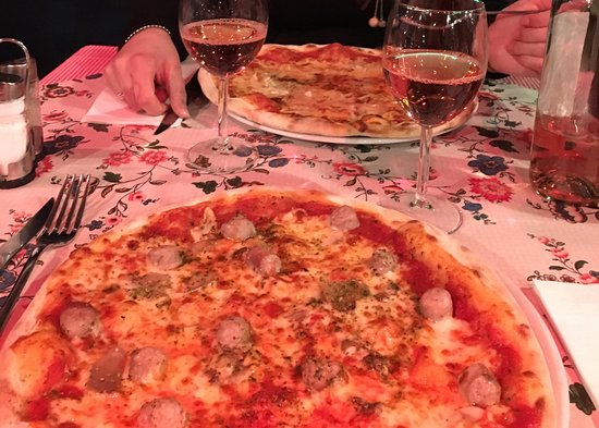 Da Gino: Pizzas forestière et 4 fromages