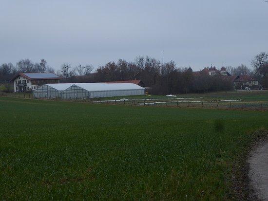 Glonn, Deutschland: Blick auf die Gärtnerei