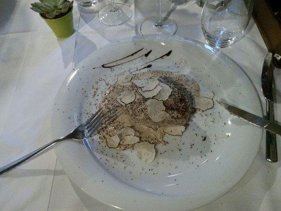 Buje, โครเอเชีย: Filetto con tartufo