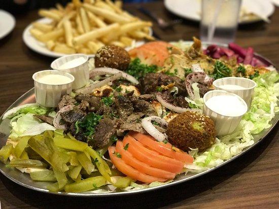 Nice Halal Food Nice Lebanese Atmosphere Paramount Fine Foods Inc Toronto Traveller Reviews Tripadvisor