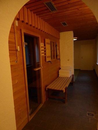Hotel Prinz-Luitpold-Bad: Neuer zusätzlicher Saunabereich im Bereich des Schwefelbades