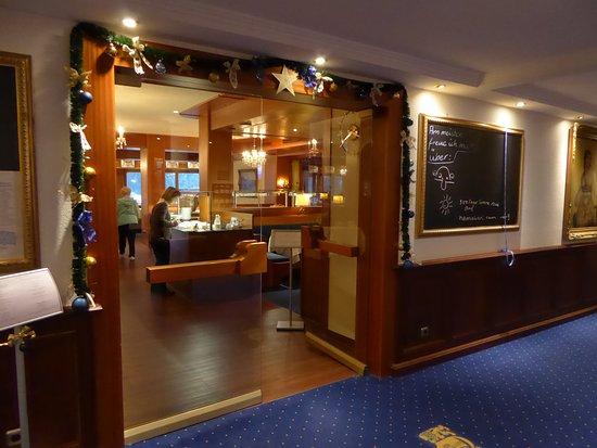 Hotel Prinz-Luitpold-Bad: Blick in den Speisesaal