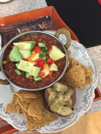 Adventure Lodge & Motel: vegetarian option available