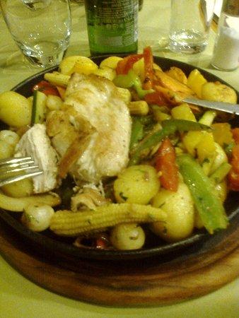 Mercure Budapest Buda: uno dei piatti scelti per la cena