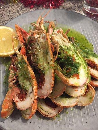 Loch Fyne Bistro: Excellente assiette de langoustines grillées
