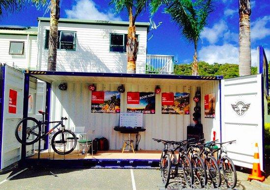 Paihia, Nya Zeeland: BBA Bikes headquarters!
