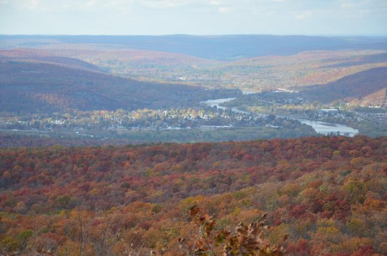 Sussex, Nueva Jersey: Foliage View from monument