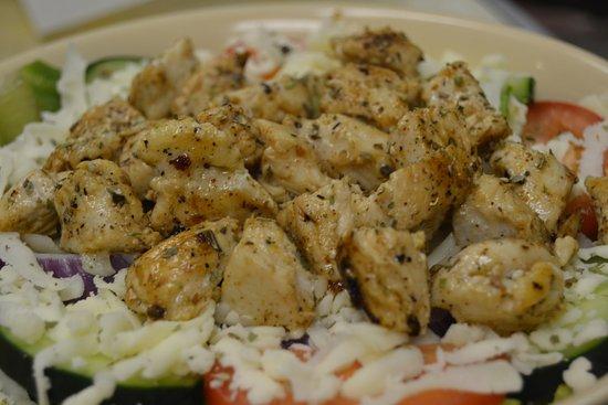 North Augusta, SC: Grilled Chicken Salad